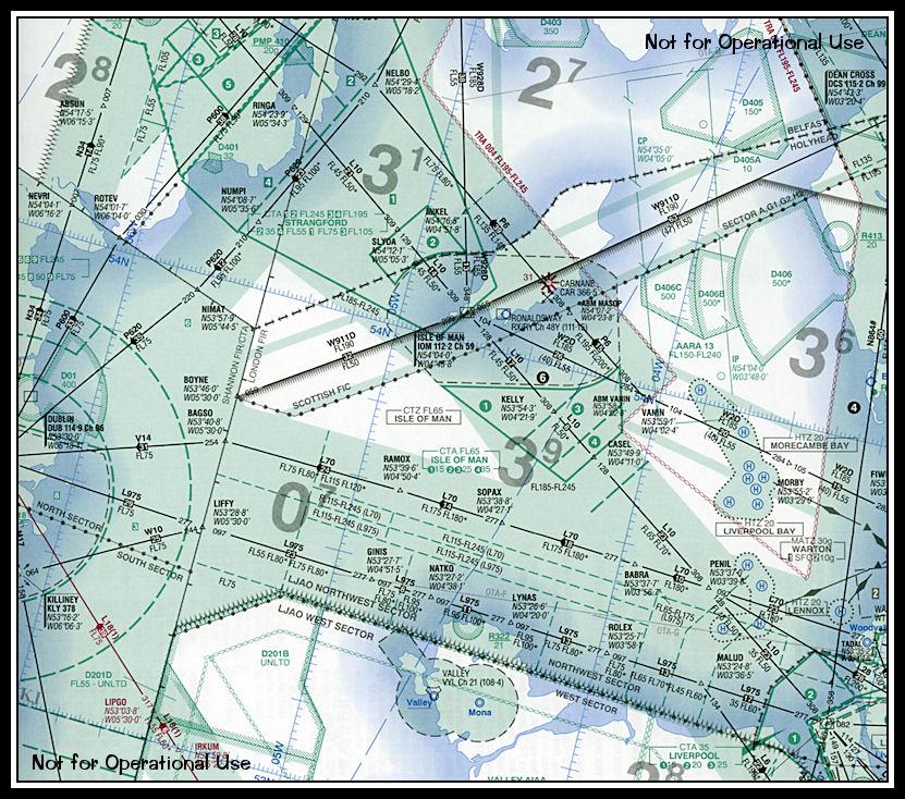 IOM 2011 Airspace Chart