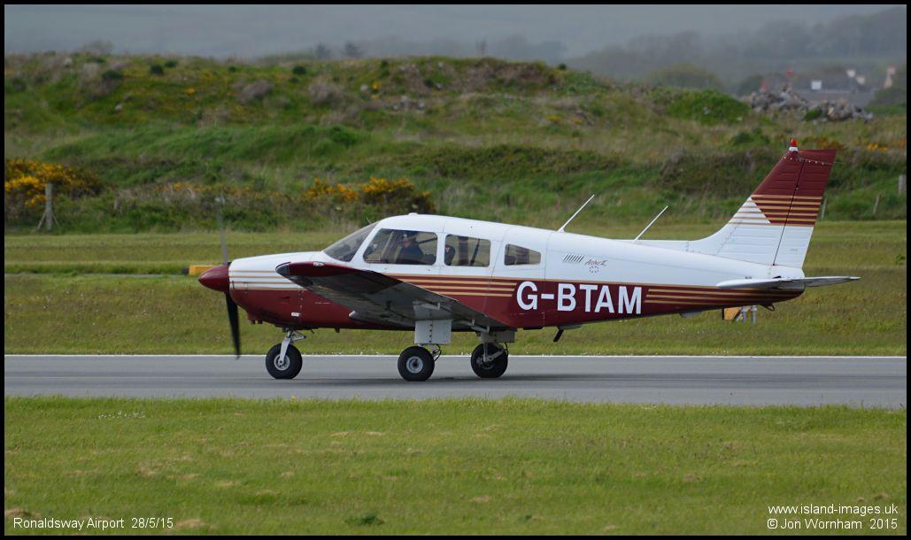 Piper PA28-181 Cherokee Archer II G-BTAM c/n 2890093 Ronaldsway 28/5 ...